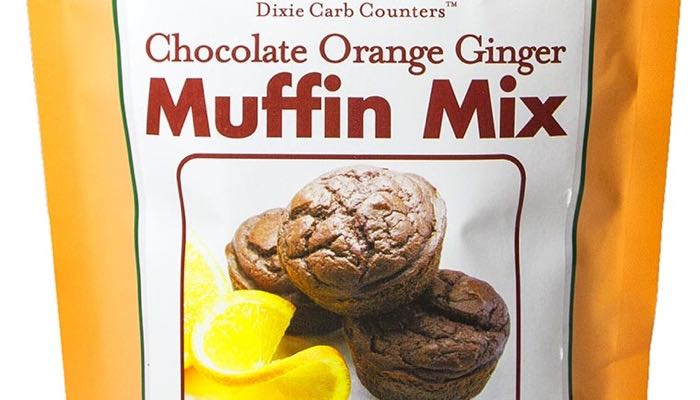 Chocolate Orange Ginger Low Carb Muffin Mix by Dixie Carb Counters