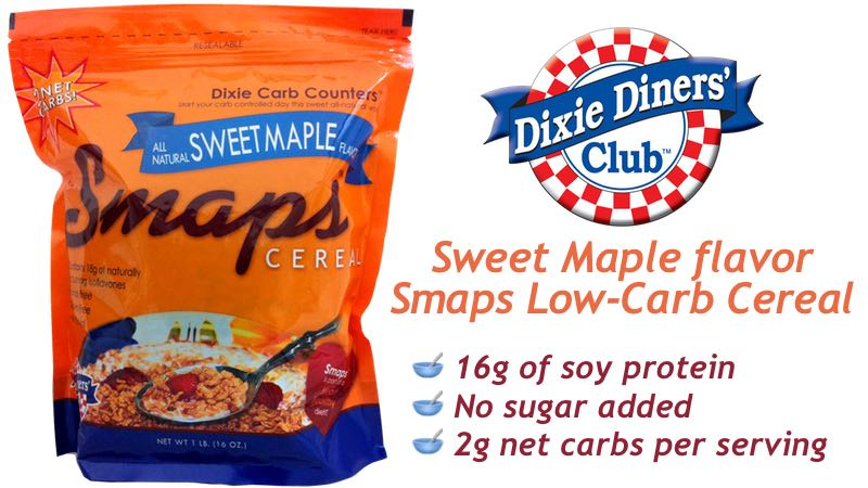Dixe Carb Counters Smaps Low-Carb Cereal