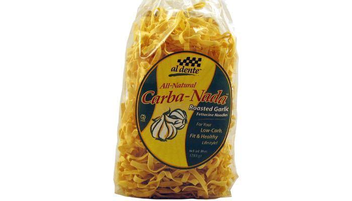 Roasted Garlic Fettuccine Carba-Nada Low Carb Pasta 10 oz. bag