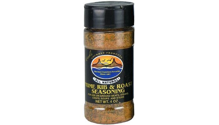 Carl's Gourmet All Natural Prime Rib & Roast Seasoning and Meat Rubs 4 oz.