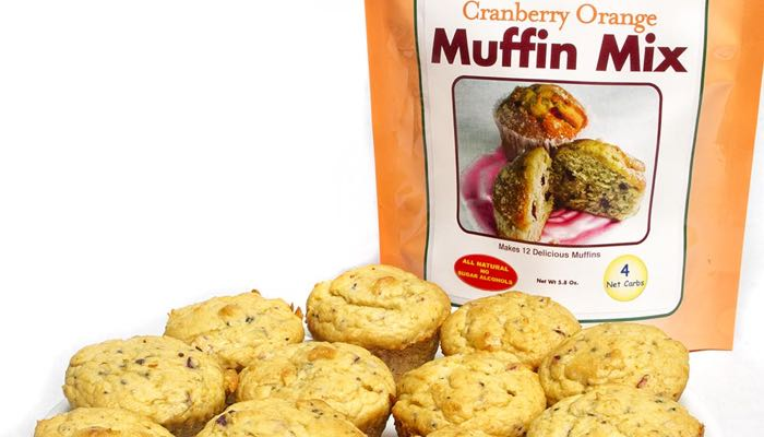 Dixie Carb Counters Cranberry Orange Muffin Mix