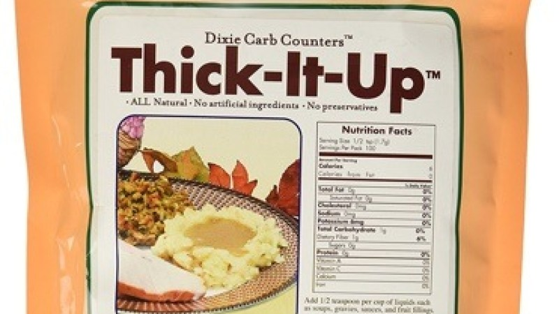 Dixie Carb Counters Thick It Up Low Carb Thickener