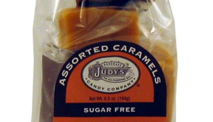 Assorted Caramels 6.5 oz. package by Judy's Candy Co.