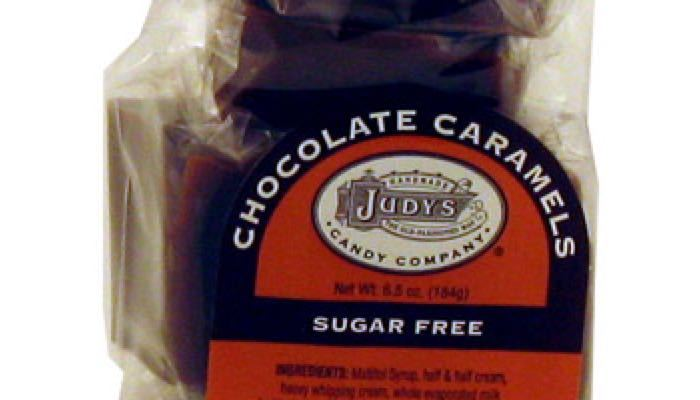 Chocolate Caramels 6.5 oz. package by Judy's Candy Co.
