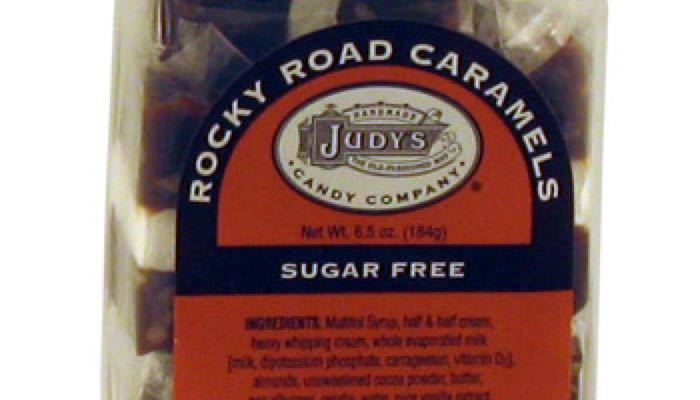 Rocky Road Caramels 6.5 oz. package by Judy's Candy Co.