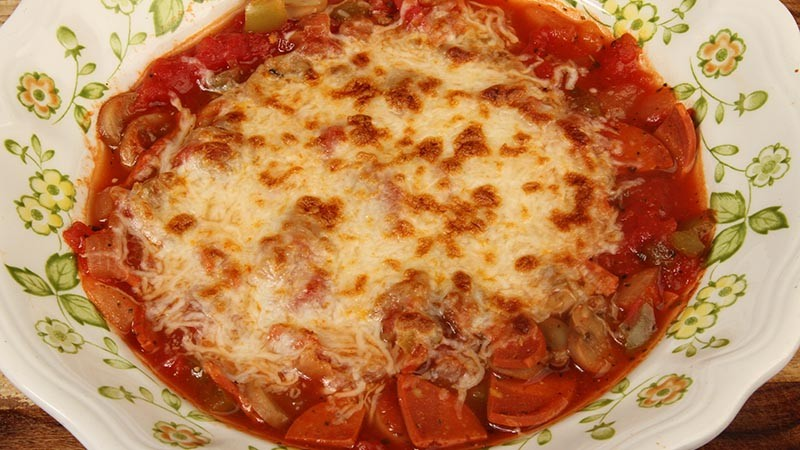 Homemade Low-Carb Gluten-Free Pizza Soup Recipe