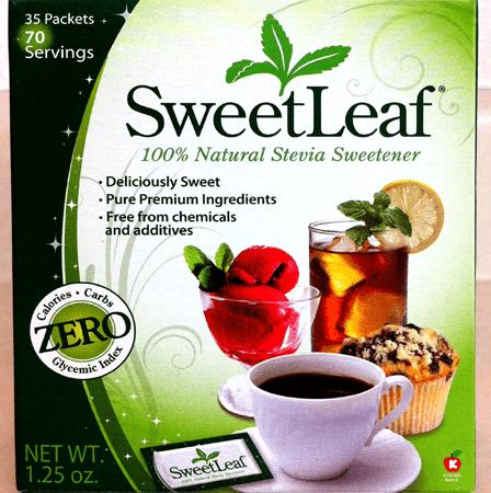SweetLeaf 100% Natural Sweetener 35 Packets
