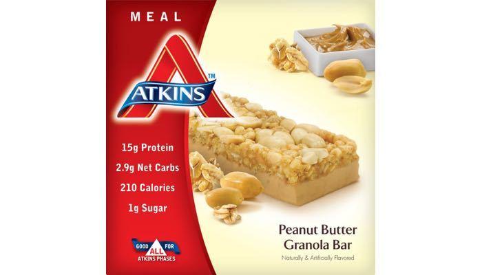 Atkins Peanut Butter Granola Bars