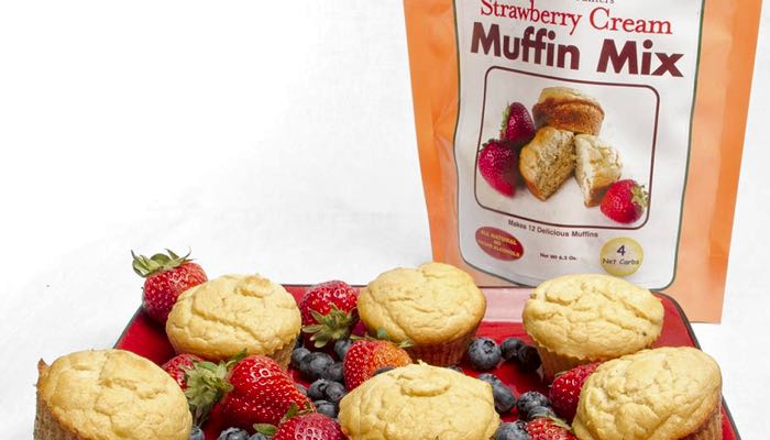 Dixie Carb Counters Strawberry Cream Muffin Mix