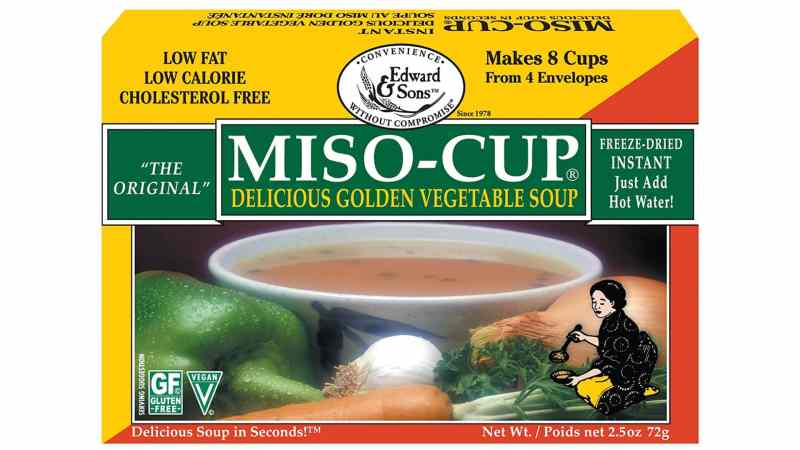 Edward & Sons Original Golden Vegetable Miso-Cup Soup