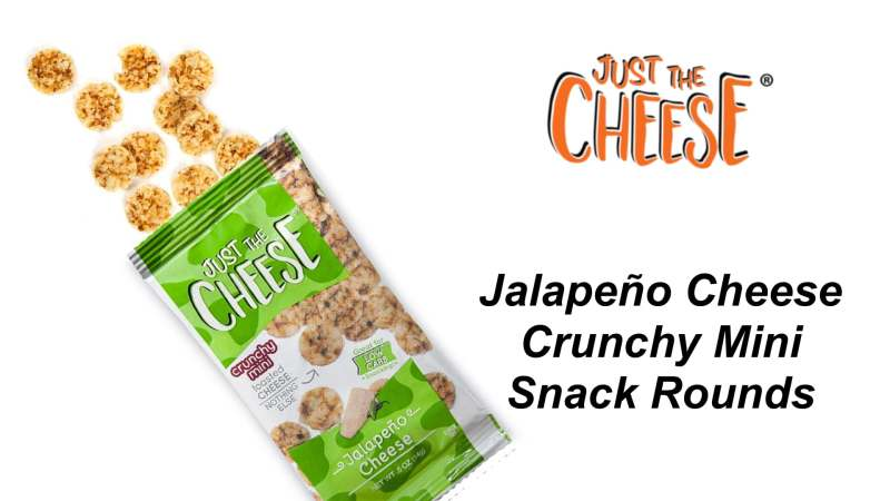 Just the Cheese Jalapeño Crunchy Minis