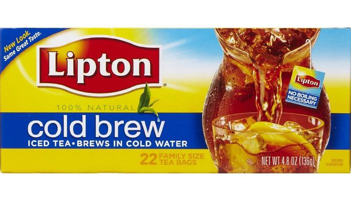 Lipton Cold Brew Ice Tea