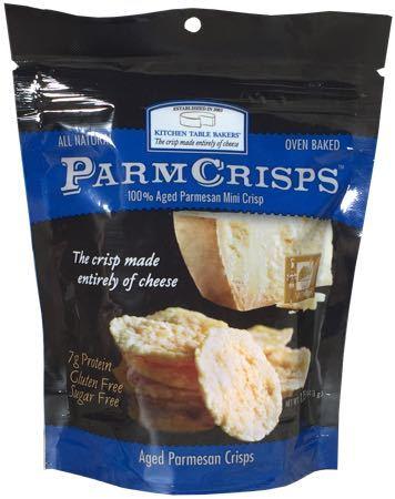 Kitchen Table Parmesan Crisps Nutrition