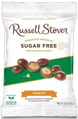 Russell Stover Sugar Free Chocolate Covered Peanuts