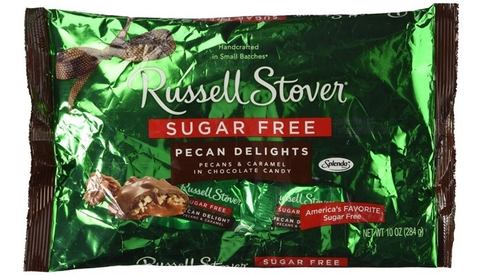Sugar Free Pecan Delights 10 oz. Bag by Russell Stover