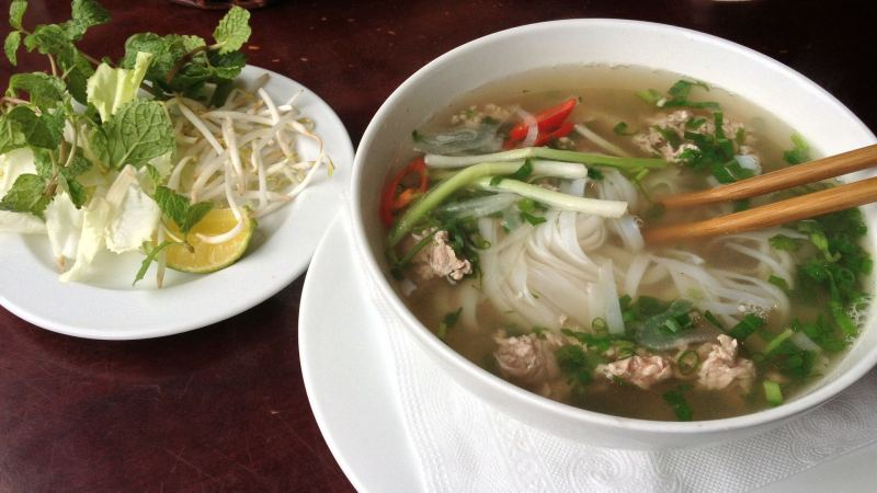 Low-Carb Quick Chicken Faux Pho Recipe