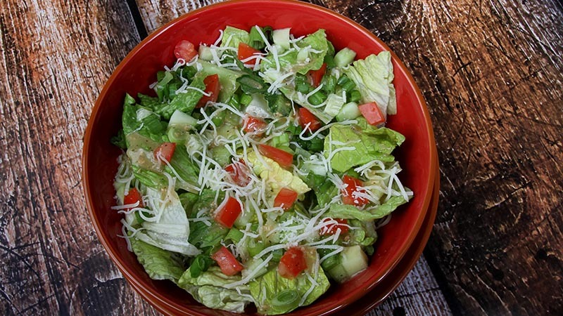 Simple Garden Salad Low Carb Gluten Free Recipe