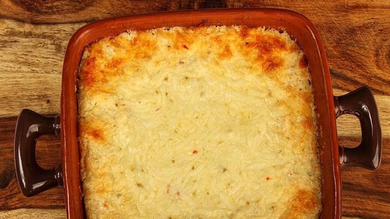 Mexi-Gratin Fauxtatoes - Low-Carb Potato Substitute Recipe