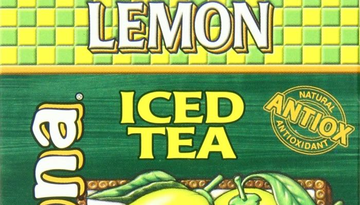 AriZona Sugar Free Lemon Iced Tea Box of 10 Stix