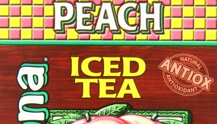 AriZona Sugar Free Peach Iced Tea Box of 10 Stix