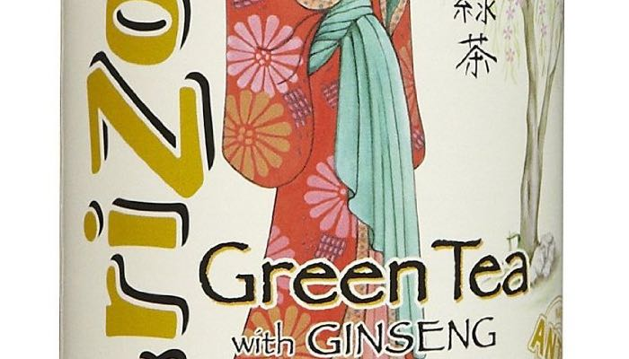 AriZona Sugar Free Green Tea w/Ginseng Iced Tea Tubs