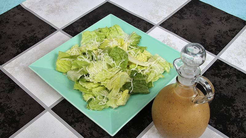 Low-Carb Gluten-Free Simple Caesar Salad Recipe