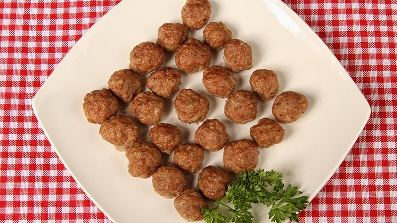 Traditional Low-Carb Italian Meatballs Recipe