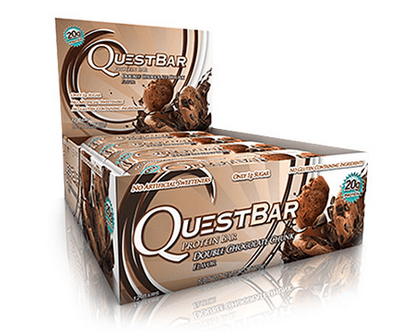 Double Chocolate Chunk Low Carb Gluten Free 2.12 oz. Protein Bar by Quest Nutrition