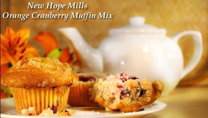New Hope Mills Orange Cranberry Muffin Mix