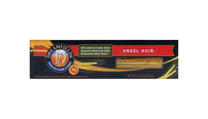 Angel Hair Dreamfields Low Carb Pasta 13.25 oz. box