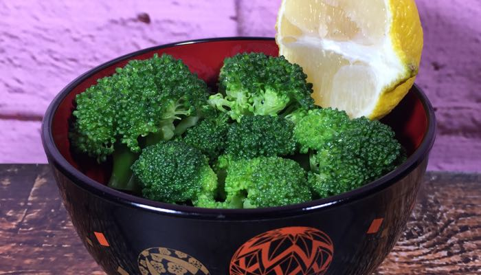 Broccoli with Lemon Butter Fat Fast Recipe