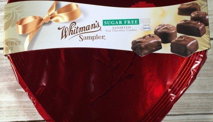 Whitman Sampler Sugar-Free Chocolates 10 oz