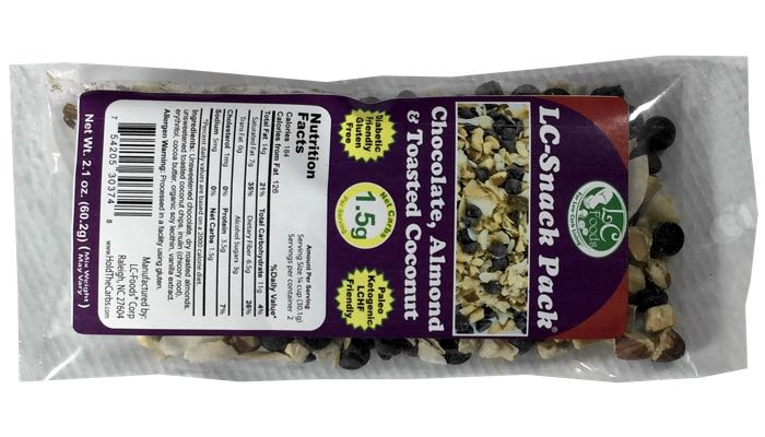 LC-Foods Chocolate Almond Toasted Coconut