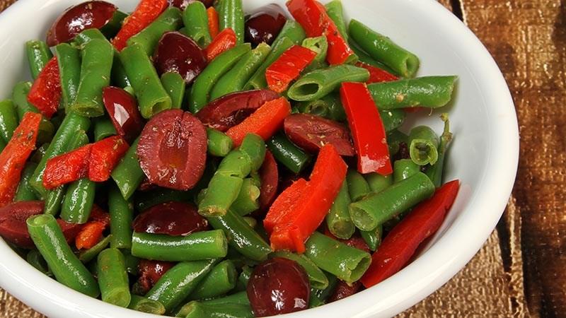 Low-Carb Gluten-Free Greek-Style Athenian Green Beans Recipe
