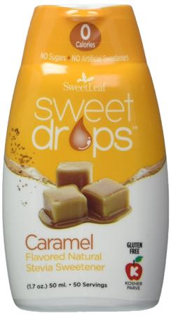 Sweet Leaf Sweet Drops Liquid Caramel Stevia Sweetener