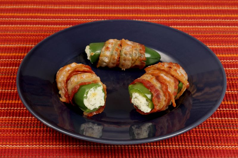 Jalapeno Poppers on the Range from Fat Fast Cookbook 2
