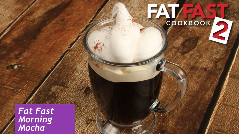 Morning Mocha Fat Fast Recipe from Fat Fast Cookbook 2