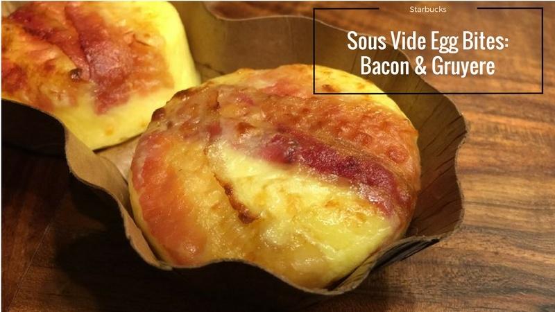 Starbucks Sous Vide Egg Bites: Bacon & Gruyere