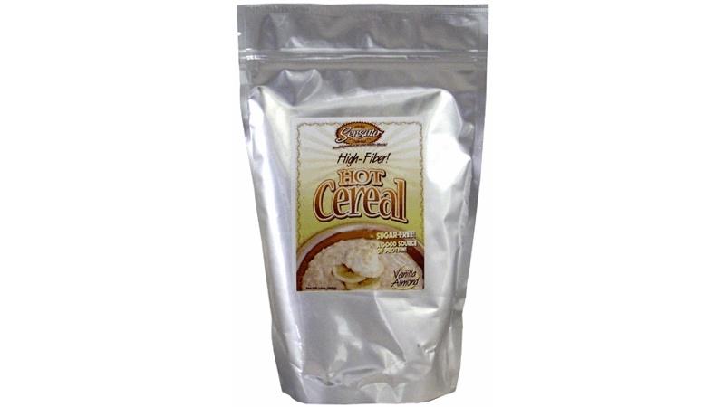 Vanilla Almond Sugar-Free High Fiber Hot Cereal, 14 oz. bag by Sensato Foods