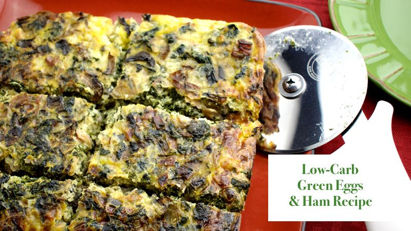 Low-Carb Green Eggs and Ham Recipe - Finished