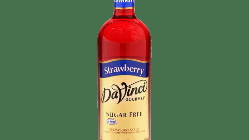 DaVinci Gourmet Sugar-Free Strawberry Syrup
