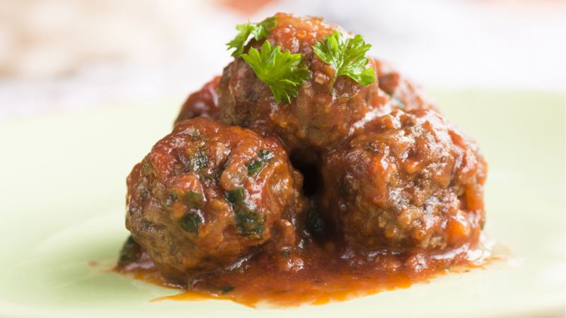 Italian Meatballs in Marinara Recipe