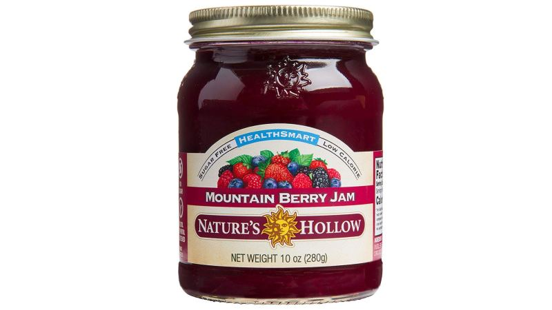 Nature's Hollow Sugar-Free Mountain Berry Jam