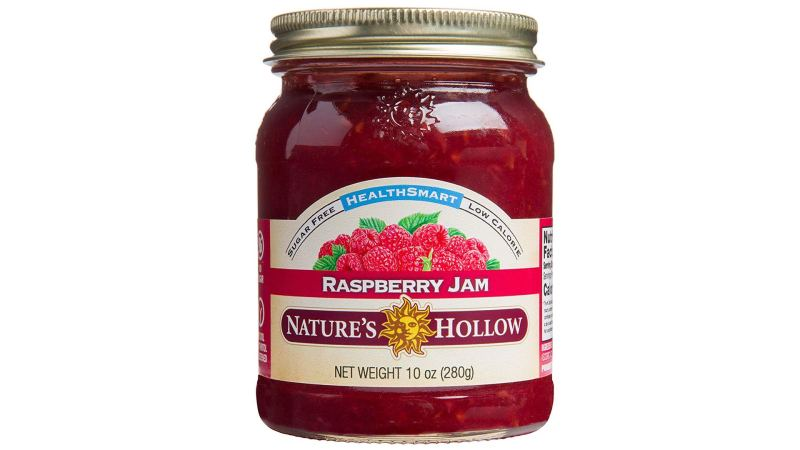 Nature's Hollow Sugar-Free Raspberry Jam