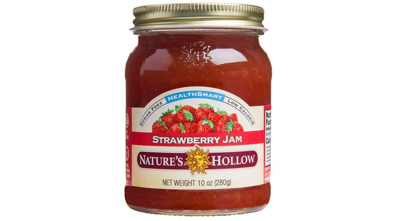 Nature's Hollow Sugar-Free Strawberry Jam