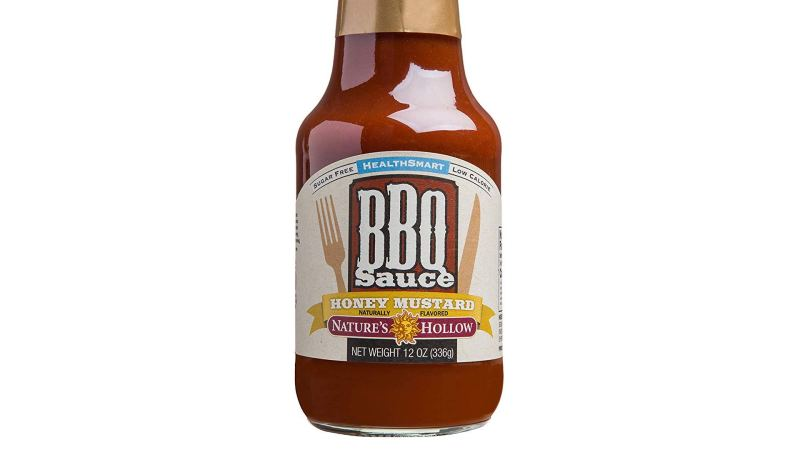 Nature's Hollow Sugar-Free Honey Mustard BBQ Sauce