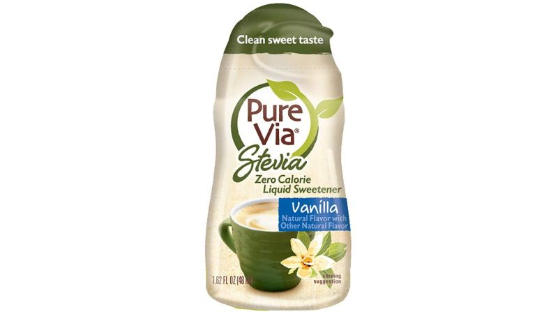 Pure Via Vanilla Liquid Stevia Drops