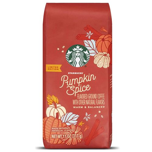Starbucks Pumpkin Spice Flavored Ground Coffee