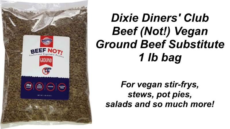 Dixie Diners Club - Beef (Not!) Ground Beef Substitute (1 lb bag)