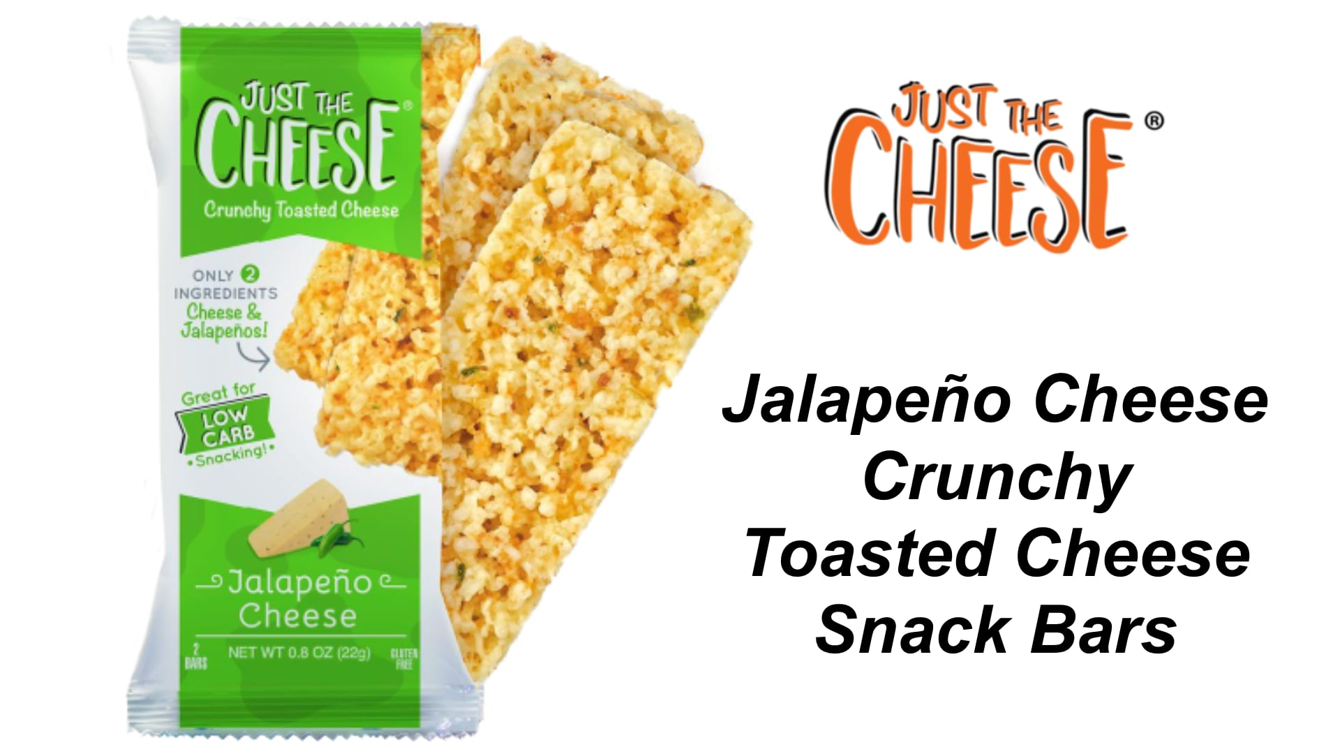 Just the Cheese Just The Cheese Jalapeño Cheese Snack Bars